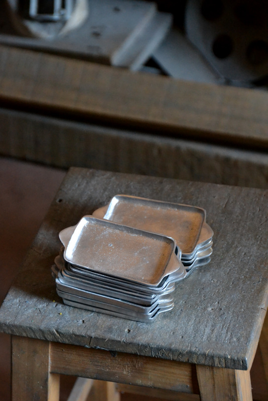 little aluminum trays
