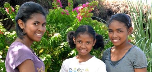 Sarah, Kesia, and Rebekah