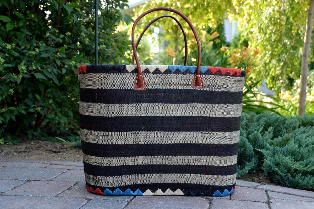 Extra Large Raphia Basket