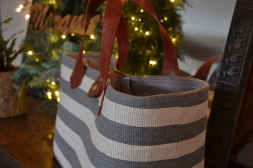 Grey Marine Tote, large