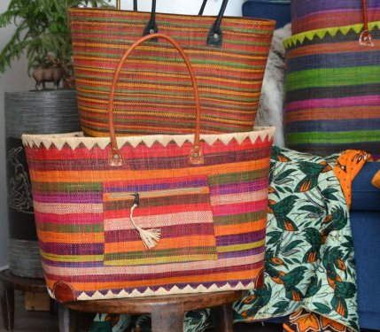 Baskets with Dark Green 4