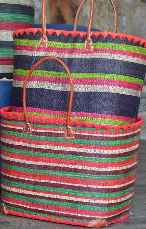 Baskets with Dark Green 2