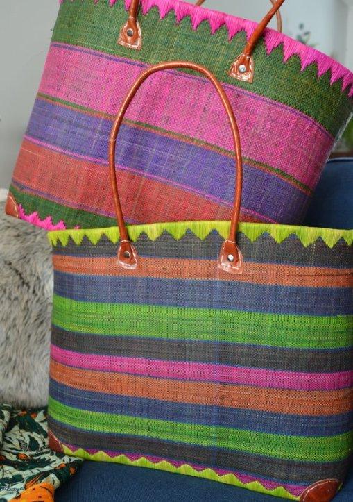 Baskets with Dark Green 5