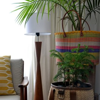 Use as a 'cache pot' - to hide your plant pots. An quick way to brighten up a room!