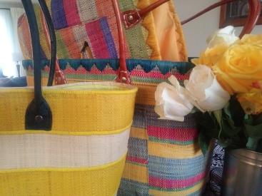 Raphia Baskets