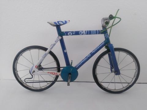 Handmade Tin-Can bikes